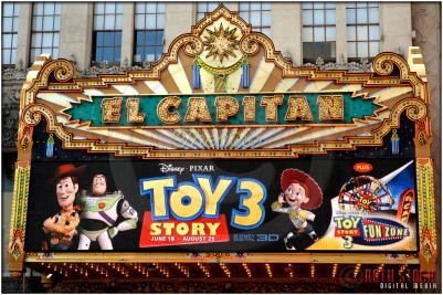 "Marquee at the World Premiere of Disney · Pixar's ""Toy Story 3"""