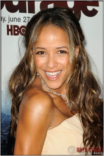 "Dania Ramirez at the Los Angeles Premiere of Season Seven of the HBO Original Series ""Entourage"""