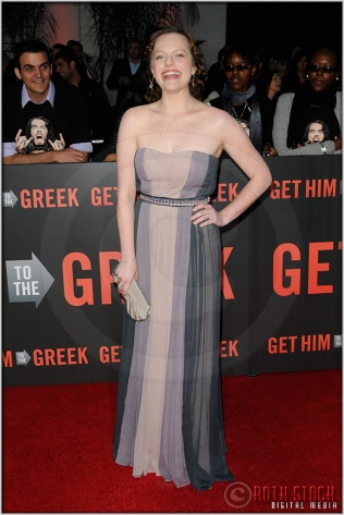 """Elisabeth Moss at the World Premiere of """"Get Him To The Greek"""""""