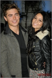 "Zac Efron and Vanessa Hudgens at the World Premiere of ""Get Him To The Greek"""