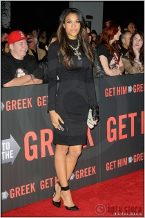 """Kali Hawk at the World Premiere of """"Get Him To The Greek"""""""