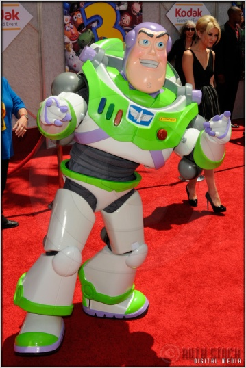 "Buzz Lightyear at the World Premiere of Disney · Pixar's ""Toy Story 3"""