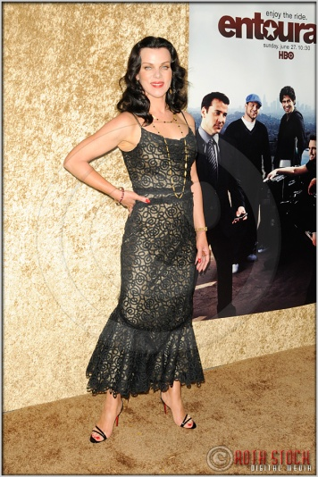 "Debi Mazar at the Los Angeles Premiere of Season Seven of the HBO Original Series ""Entourage"""