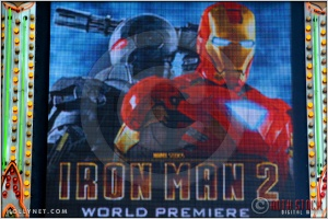 "Marquee at the World Premiere of ""Iron Man 2"""