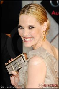 "Leslie Bibb at the World Premiere of ""Iron Man 2"""