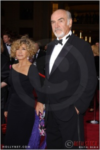 Sean Connery and Micheline Roquebrune at the 76th Annual Academy Awards®