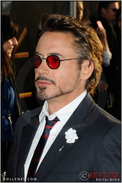 "Robert Downey, Jr. at the World Premiere of ""Iron Man 2"""