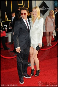 "Robert Downey, Jr. and Gwyneth Paltrow at the World Premiere of ""Iron Man 2"""