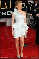 "Scarlett Johansson at the World Premiere of ""Iron Man 2"""
