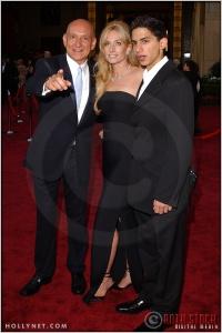 Sir Ben Kingsley and Alexandra Christmann at the 76th Annual Academy Awards®