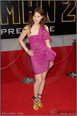 "Michelle Monaghan at the World Premiere of ""Iron Man 2"""