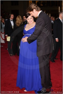 Marcia Gay Harden and Thaddaeus Scheel at the 76th Annual Academy Awards®