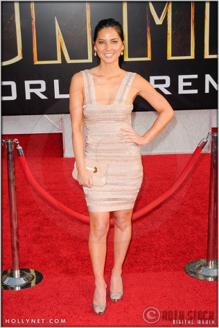 "Olivia Munn at the World Premiere of ""Iron Man 2"""