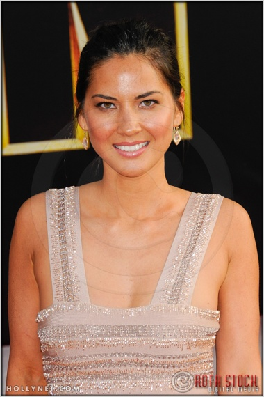 "Olivia Munn at the World Premiere of ""Iron Man 2"""