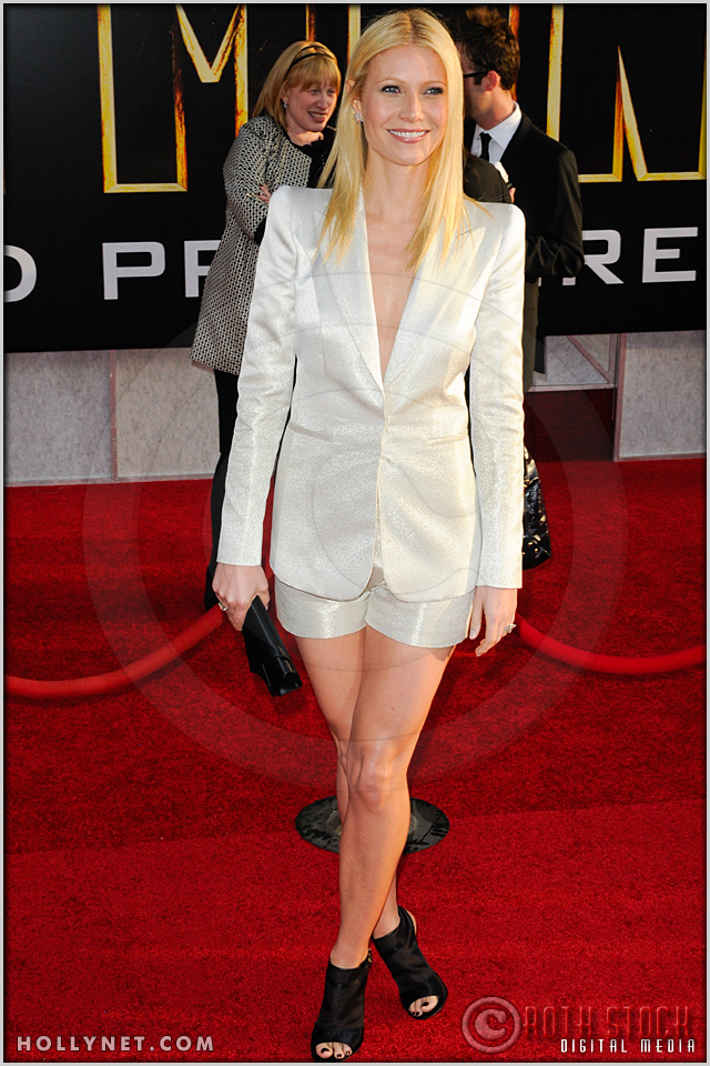 "Gwyneth Paltrow at the World Premiere of ""Iron Man 2"""