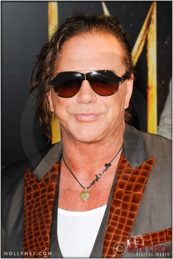 "Mickey Rourke at the World Premiere of ""Iron Man 2"""