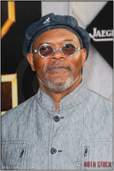 "Samuel L. Jackson at the World Premiere of ""Iron Man 2"""
