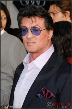 "Sylvester Stallone at the World Premiere of ""Iron Man 2"""