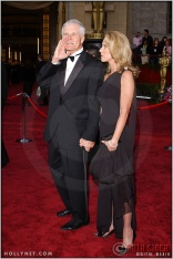 Ted Turner and guest at the 76th Annual Academy Awards®