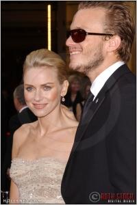 Naomi Watts and Heath Ledger at the 76th Annual Academy Awards®