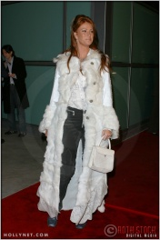 "Angie Everhart at the Premiere Screening of ""Just Married"""