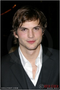 """Ashton Kutcher at the Premiere Screening of """"Just Married"""""""