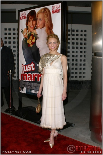 "Brittany Murphy at the Premiere Screening of ""Just Married"""