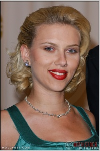 Scarlett Johansson in the Press Room at the 76th Annual Academy Awards®