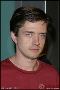 "Topher Grace at the Premiere Screening of ""Just Married"""