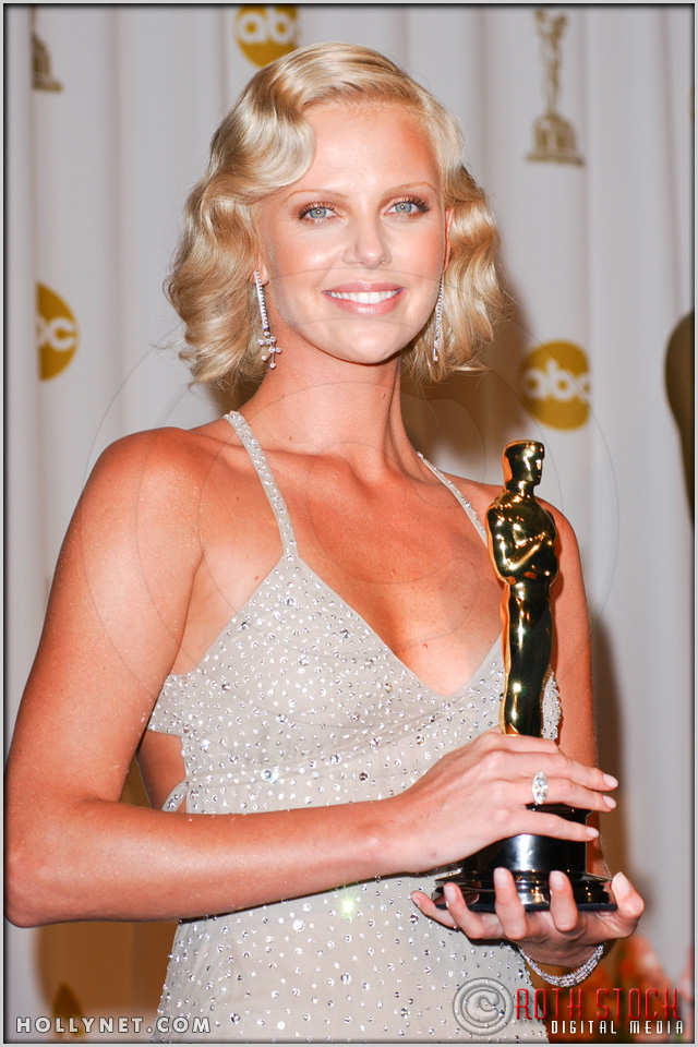 Charlize Theron in the Press Room at the 76th Annual Academy Awards®