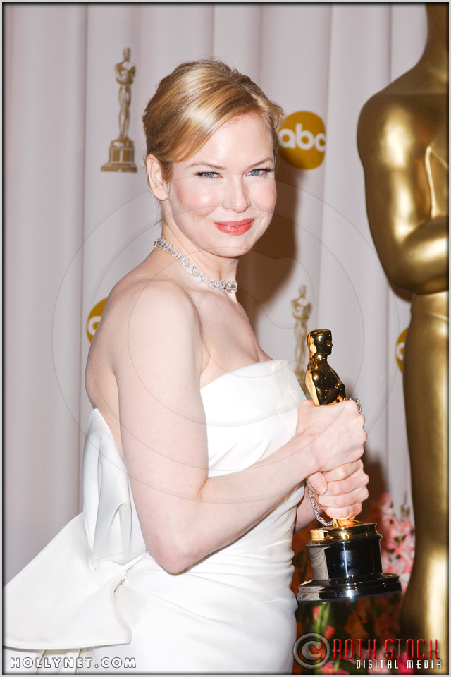 Renee Zellweger in the Press Room at the 76th Annual Academy Awards®