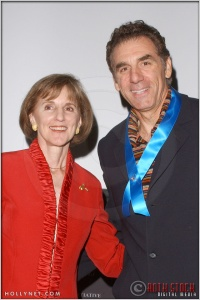 Gillian Sorensen and Michael Richards