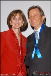 Gillian Sorensen and Michael York