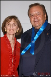 Gillian Sorensen and Paul Sorvino