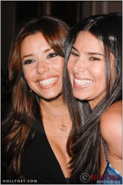 Eva Longoria and Roselyn Sanchez at the Press Conference for the Rally for Kids with Cancer Scavenger Cup