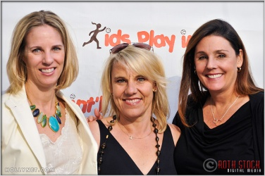 Ally Bowdoin, Olympian Tracy Evans and Kathy Knoll at Kids Play International's 4th Annual Cocktails For A Cause