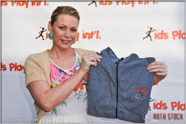 Former Professional Soccer Player Anne Poulin at Kids Play International's 4th Annual Cocktails For A Cause