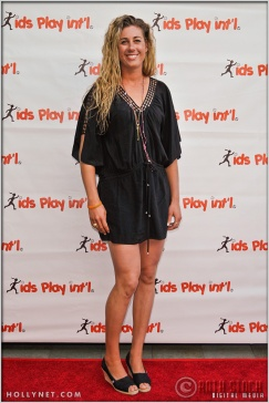 Olympian April Ross at Kids Play International's 4th Annual Cocktails For A Cause