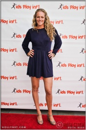 Olympian Jen Kessy at Kids Play International's 4th Annual Cocktails For A Cause