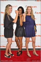 Olympians April Ross, Tasha Danvers and Jen Kessy at Kids Play International's 4th Annual Cocktails For A Cause