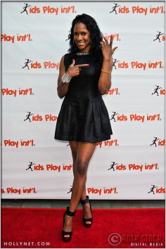 Olympian Tasha Danvers at Kids Play International's 4th Annual Cocktails For A Cause