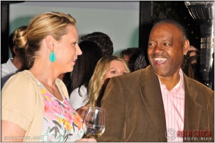 Former Professional Soccer Player Anne Poulin and Jeffrey Taylor at Kids Play International's 4th Annual Cocktails For A Cause