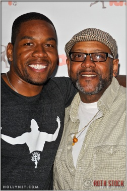 Actor Coley Mustafa Speaks with Coley Speaks, Sr. at Kids Play International's 4th Annual Cocktails For A Cause