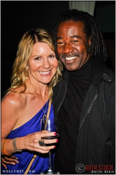 Regi Ross Rayfield and Guest at Kids Play International's 4th Annual Cocktails For A Cause