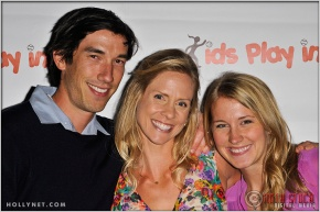 Matt Komer, Jaime Komer and Megan Strawther at Kids Play International's 4th Annual Cocktails For A Cause