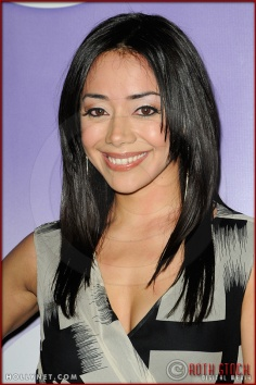 Aimee Garcia at NBC Universal Press Tour