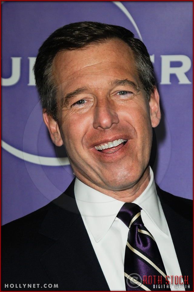 Brian Williams at NBC Universal Press Tour