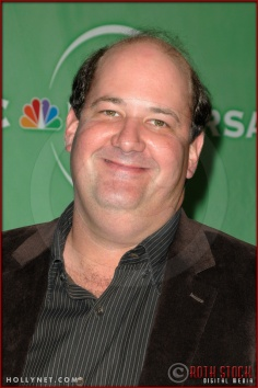 Brian Baumgartner at NBC Universal Press Tour