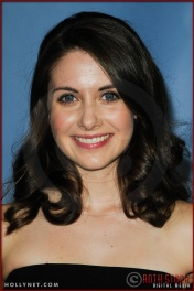 Alison Brie at NBC Universal Press Tour