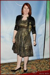 Kate Flannery at NBC Universal Press Tour